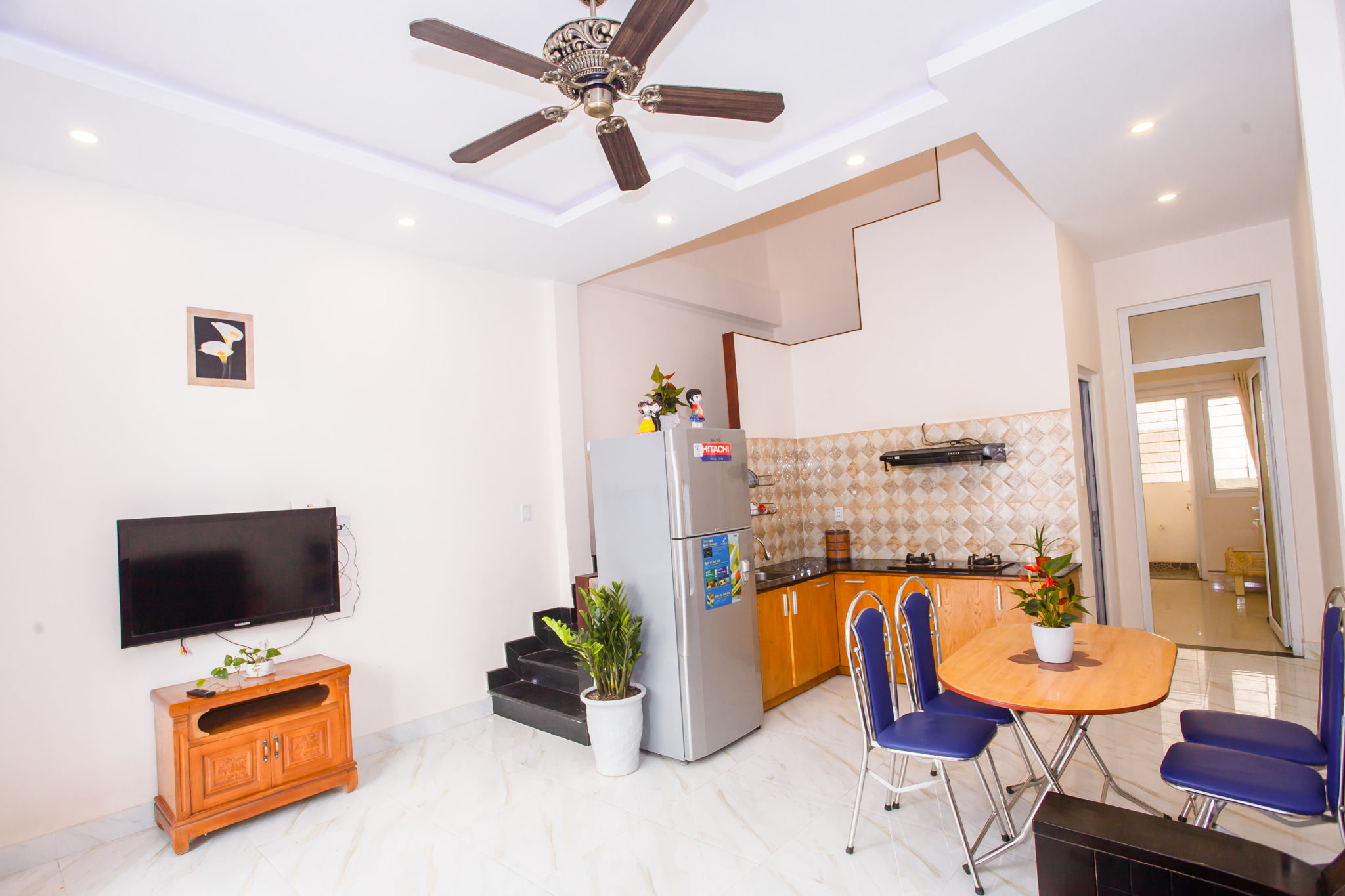 3 bedrooms house in An Thuong area for rent short-term and long-term