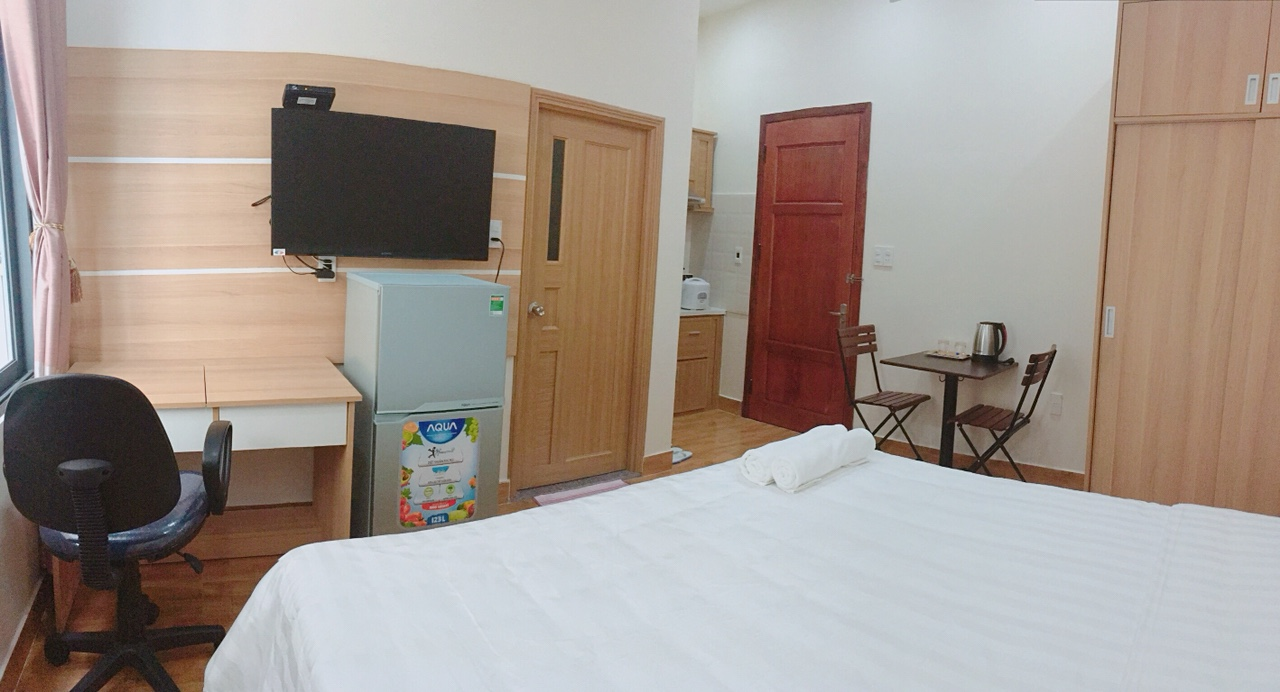 Budget studio apartment in An Thuong area